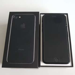 IPhone 7 128GB Jet Black 100% brand new