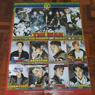 EXO + Pentagon Epop Poster