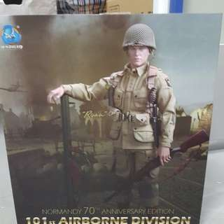 BNIB A80097 - 101st Airborne Division - Ryan (Normandy 70th Anniversary Edition). Never display b4 only open for inspection. No low ballers