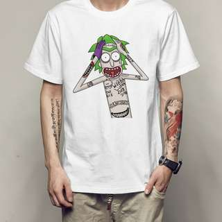 Rick and Morty T shirt : Joker Parody T Shirt
