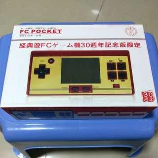 FC Pocket 經典手提遊戲機30週年紀念限定
