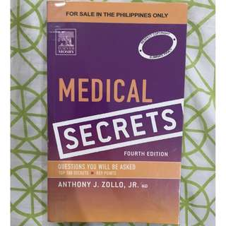 Medical Secrets 4th Edition and Expanded Medicine Blue Book 6th Edition