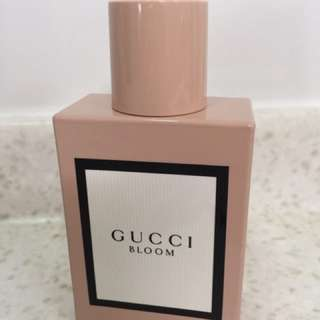 Gucci Bloom Perfume (only used once)