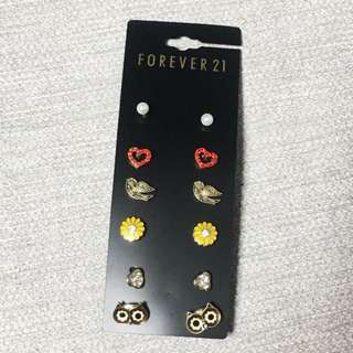 [USA] Forever21 Earrings 1set x6 pieces