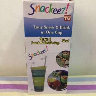 Snackeez 2 in 1 Snack & Drink Tumbler