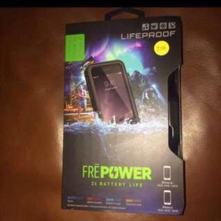 Lifeproof Fre Power Battery Charging Case For iPhone 6 6s - Black NEW
