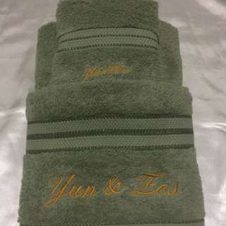 Lesleymbroidery Personliized Your Towel Perfect Gift for any Occasion