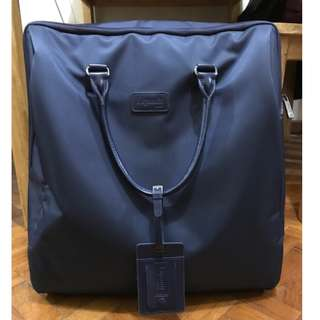 Lipault Lady Plume Pilot Case Luggage in Navy Blue