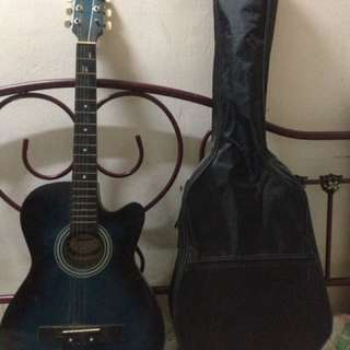 Gitar harper with bag