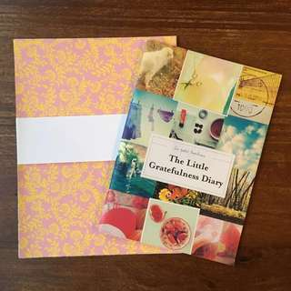 Origami papers & Little Gratefulness Diary