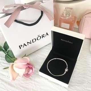 Authentic Pandora bracelet 18cm