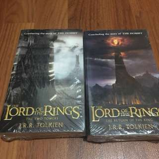 The Two Towers and The Return of The King LORD OF THE RINGS