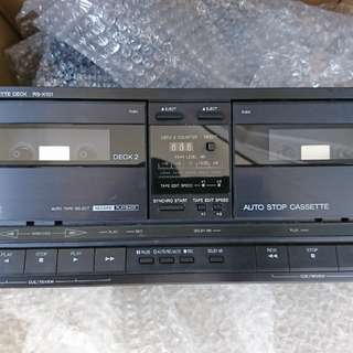 Technics 3 decks sound system with original manuals