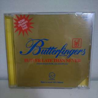 Butterfingers Butter Late Than Never