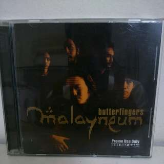 Butterfingers Malayneum CD