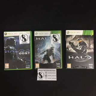Halo titles for XBOX 360 offer