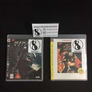 PS3 Ninja Gaiden 1 &2 clearance