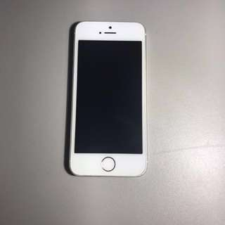 Unlocked iPhone 5s in silver 16GB