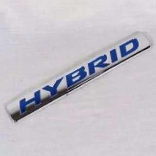 Honda Hybrid badge