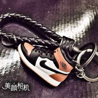 Basketball Shoes Keychain
