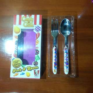 Candy Crush Fork & Spoon