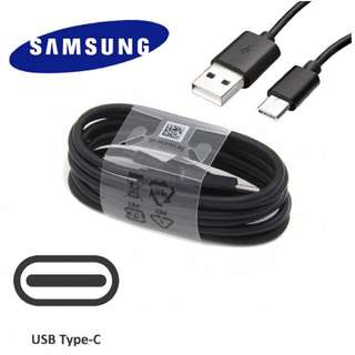 正版原裝線 1.2米 Samsung Galaxy Note 8 S8 Plus Type C 快充線 USB 3.1 QC 3.0 cable 原廠快充數據線