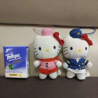 hello kitty and dear daniel  掛飾