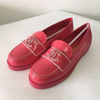 Authentic CHANEL Moccasins Loafers