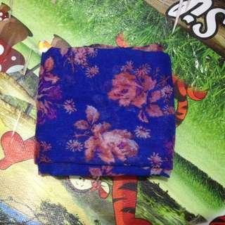 Jilbab Square Flower