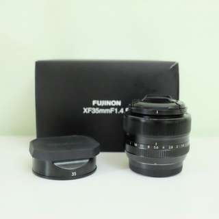 WTS - Used Fujifilm XF35mm F1.4 R Lens