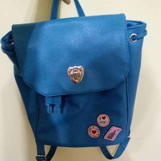 二手藍綠色後背包#我有後背包要賣