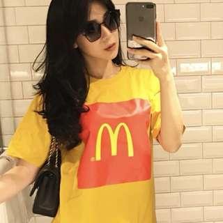 (NEW) Korean Style McD Tee