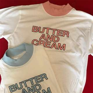 (NEW) Butter and Cream Tee