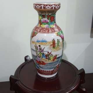 Chinese traditional flower Vase only