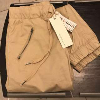 Womens cuffed chinos