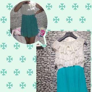 Pastel Preppy Dress
