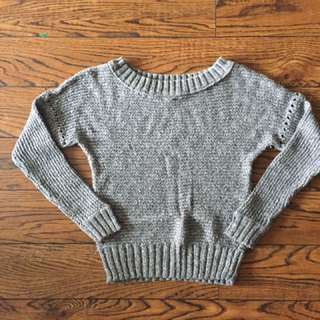 Aerie grey sweater - small