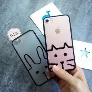 可愛貓咪iphone 7/ 8 case 手機套電話殼