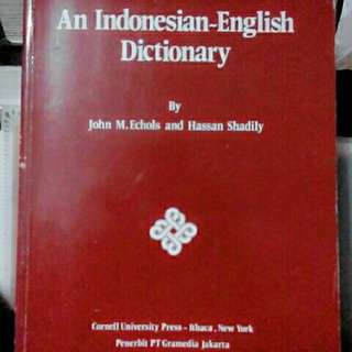 An indonesian-english dictionary