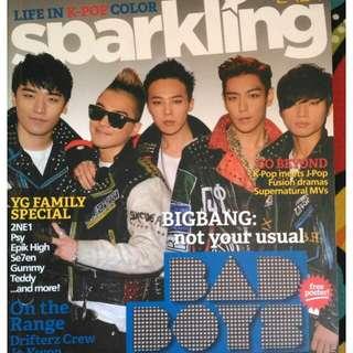 Big Bang and Dara Park (Sparkling Magazine)