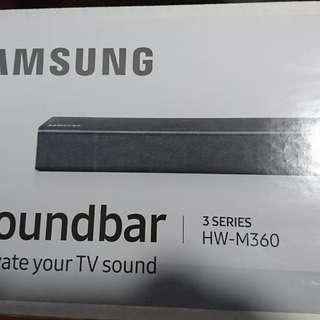 BNIB Samsung Wireless Soundbar HW-M360