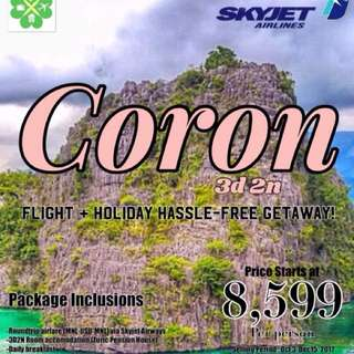 Coron palawan all-in package