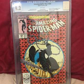 Amazing Spider-Man #300 CGC 9.4