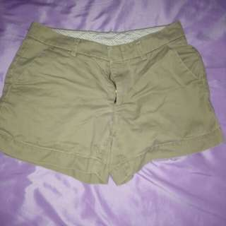 Brown uniqlo shorts