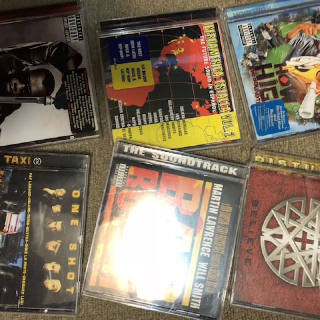 收藏2手CD.可正常播放.1張220不含運.一次買足3張660含運!