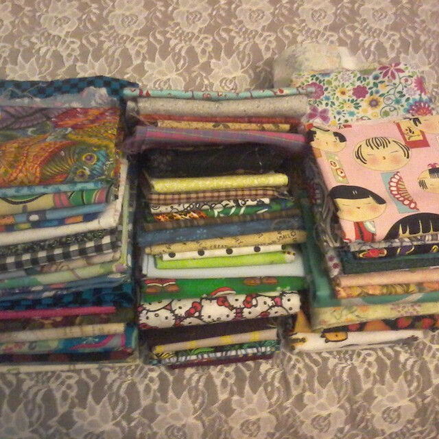 6lbs of cotton fabric!