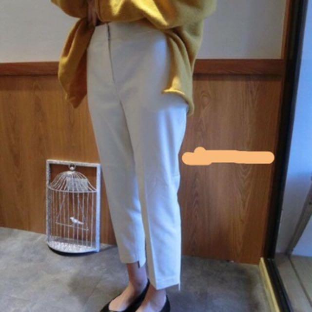 正韓顯瘦挺版長褲