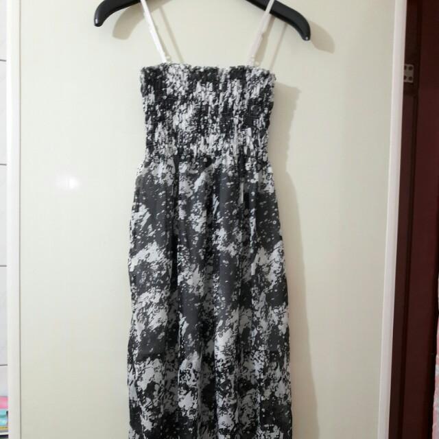 平口小洋裝(也可當高腰裙)