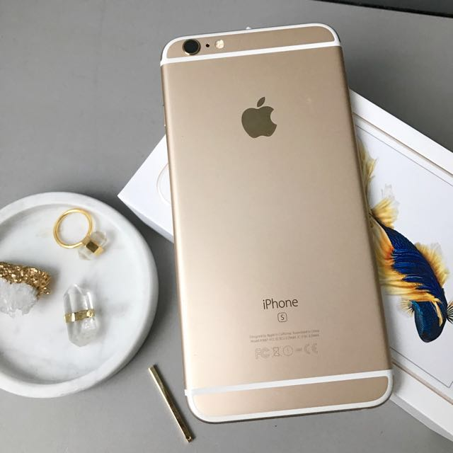 iphone 6s plus gold 16gb 9 5 10 mobile phones tablets iphone iphone 6 series on carousell. Black Bedroom Furniture Sets. Home Design Ideas