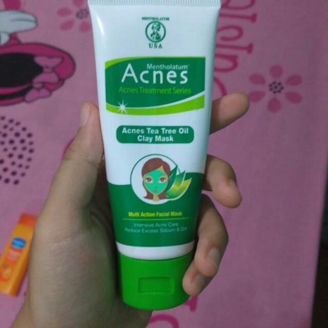 Acnes Tea Tree Oil Clay Mask